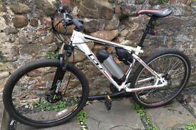 E-bike built from a new GT Aggressor mountain bike