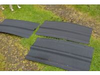 Roof Ridge panels for shed/workshop, new
