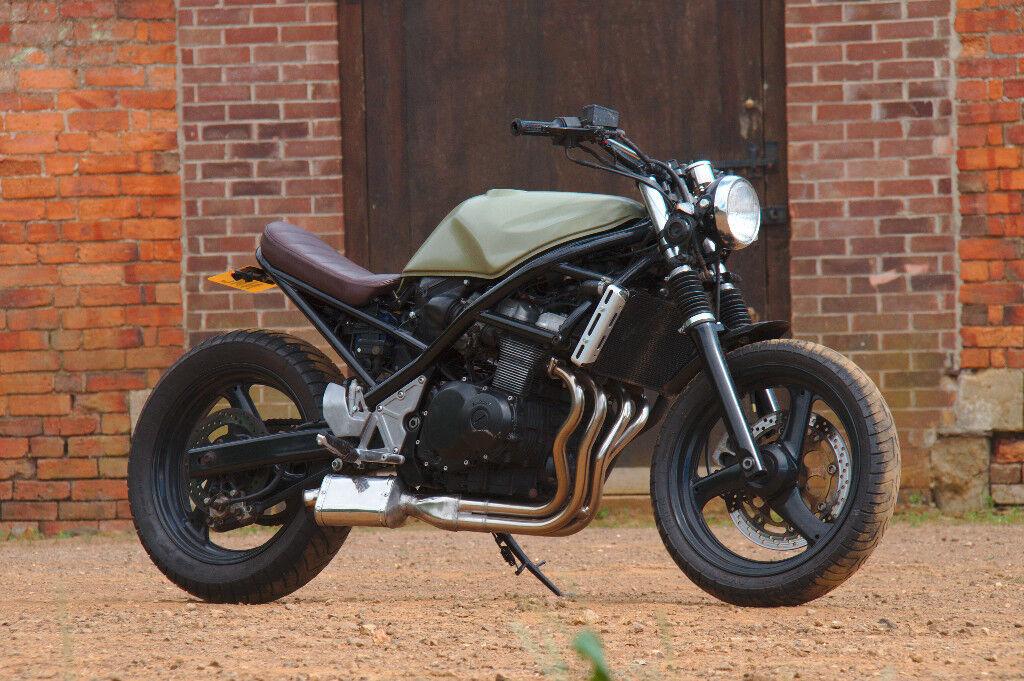 custom suzuki bandit gsf 400 cafe racer brat in basford. Black Bedroom Furniture Sets. Home Design Ideas