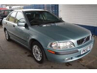 Volvo S40 2002 In excellent condition with MOT until DECEMBER 2016