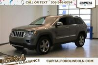 2012 Jeep Grand Cherokee Overland 4WD *Navigation-Heated/Cooled