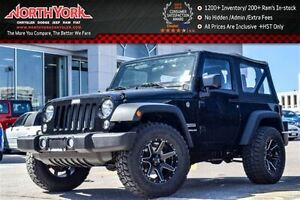 2016 Jeep Wrangler NEW Car|Sport 4x4 Manual|Upgraded Wheels Pkg|