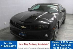 2013 Chevrolet Camaro 2SS! 6-SPEED! w/ LEATHER! REVERSE CAMERA!