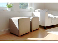 Lovely Pair of Pouffes