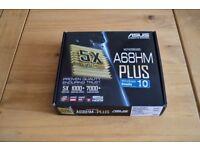 AMD A4 6300 Processor + ASUS A68 HM-PLUS Motherboard