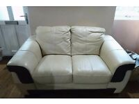 dfs 3 and 2 seater sofa + pouffe