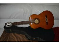 1970's Yamaha Classical Acoustic Guitar with Hard Carry Case G 230