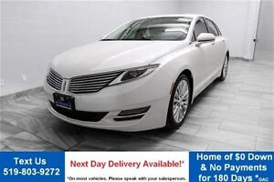 2013 Lincoln MKZ 2.0L ECOBOOST! LEATHER! SUNROOF! PARKING SENSOR