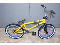 MAFIA BMX BIKE IN YELLOW.