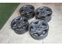"Genuine Range Rover 18"" Mondial Alloy wheels Land Rover 5x120 VW T5 Stance P38 Discovery"
