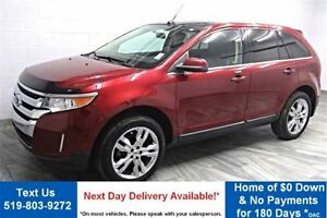 2013 Ford Edge AWD! 20S! LEATHER! NAVIGATION! PANORAMIC ROOF! RE