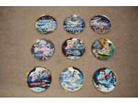 """""""Thunderbirds"""" plates, all excellent condition, sold as one item"""