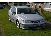 Saab Estate Auto with Sports mode. Clean inside & out. MOT'd