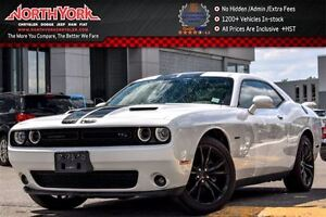 2016 Dodge Challenger R/T|Manual|HEMI|Tech,BlacktopPkgs|Sunroof|