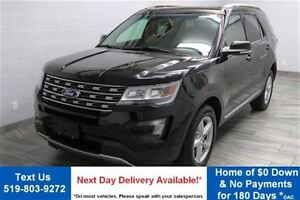 2016 Ford Explorer XLT 4WD V6 w/ LEATHER! SUNROOF! REVERSE CAMER