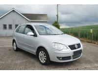 VW POLO 1.4 S DIESEL 5 DOOR LADY OWNER £30 ROAD TAX