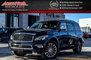 2016 Infiniti QX80 7 Seater|AWD|Tech Pkg|Nav|BOSE|Sunroof|DVD Sc