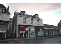 Available immediately 1 bedroom unfurnished attic flat in central location