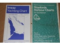 imray and stanford (folding) sailing charts