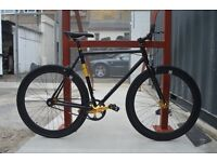 Aluminium Brand new single speed fixed gear fixie bike/ road bike/ bicycles + 1year warranty rr