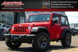 2016 Jeep Wrangler NEW Car|Sport 4x4|Upgraded Wheels Pkg|Cruise|