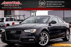 2016 Audi A5 Premium|S-Line Pkg|Sunroof|Bluetooth|SatRadio|Rear