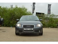 Audi A3 Grey, with service history, MOT until August, in very good condition