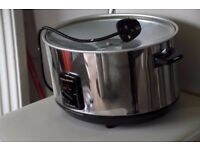 Slow cooker without bowl