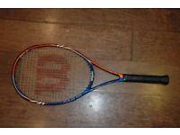 Junior Wilson tennis racket, tour 26