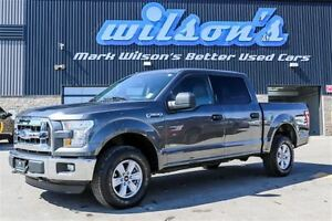 2016 Ford F-150 XLT 4X4! CREW CAB! BLUETOOTH! KEYLESS ENTRY! CRU