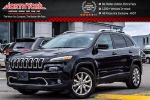 2016 Jeep Cherokee Limited Nav|Leather|Backup Cam|Keyless_Go w/R