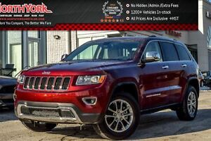 2016 Jeep Grand Cherokee Limited |4x4|Nav|RearCam|R/ParkSense|R-