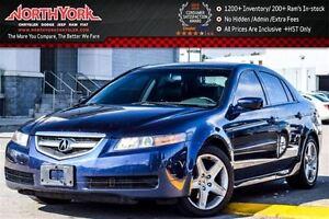 2004 Acura TL |AccidentFree|Sunroof|Drvr Mem|Htd Front Seats|Dua