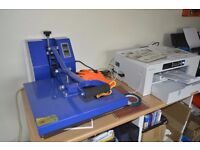 Sublimation Printers, Heat Press and Printable Blanks For Sale