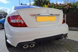 C63 COUPE REPLICA - 2011 MERCEDES-BENZ C250 CDI BLUEEFFICIENCY AMG SPORT EDITION 125 7G-TRONIC