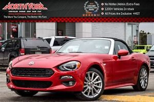 2017 Fiat 124 Spider Lusso Manual Nav Leather BOSE HTD Seats Bac