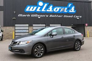 2013 Honda Civic $54/WK, 4.74% ZERO DOWN! EX NEW BRAKES! SUNROOF
