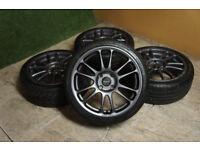 "Genuine Dare / A-tech GearR 17"" Alloy wheels 4x108 Ford Focus Fiesta Puma Alloys"