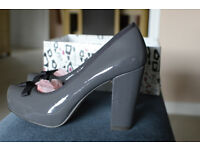 "Grey Miss KG ""Ellis"" Courts, 4"" heel, size 39 (UK 6). Worn once."
