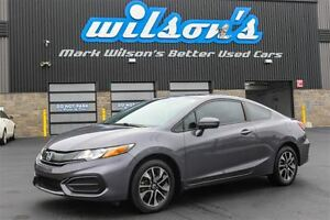 2014 Honda Civic EX SUNROOF! HEATED SEATS! $65/WK, 4.74% ZERO DO