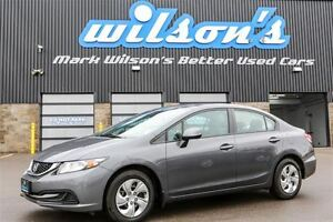 2013 Honda Civic $49WK, 4.74% ZERO DOWN! LX KEYLESS ENTRY! BLUET