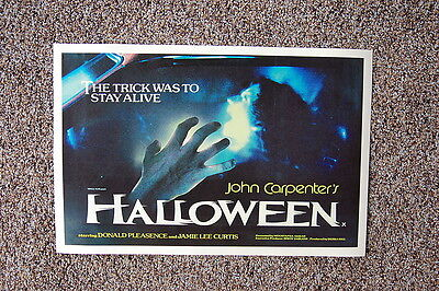 Halloween #2 Lobby Card Movie Poster Jamie Lee Curtis John Carpenters