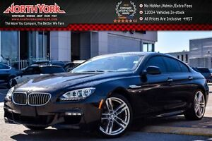 2015 BMW 6 Series Loaded|xDrive|MSportEdition,DrvrAsst+,Lighting
