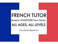 FRENCH TUTOR based in Guildford
