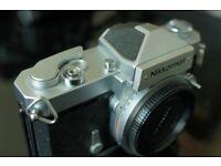 Nikon Nikkormat FT-N SLR, F mount, mechanical shutter, manual focus