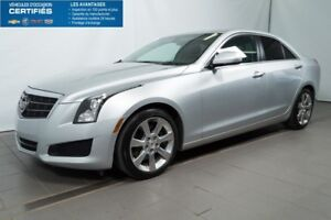 2014 CADILLAC ATS TOIT OUVRANT, BLUETOOTH