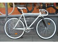 Brand new single speed fixed gear fixie bike/ road bike/ bicycles + 1year warranty & free service 5m