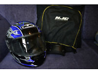 HJC Ladies Motorcycle Helmet CS-12 - Size Small - Worn twice