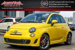 2016 Fiat 500 Abarth|Sunroof|Leather|Comfort&Convenience Pkg.|HT