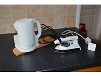 Travel Kettle for use car and travelling iron